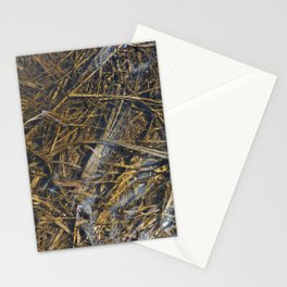 Grass with ooze Stationery Cards