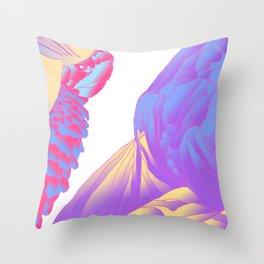 Conan Muerde Throw Pillow