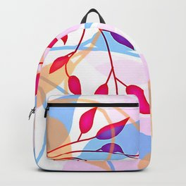 bright Flood of Leafs Backpack