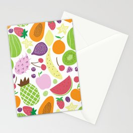 Juicy fruits Stationery Cards