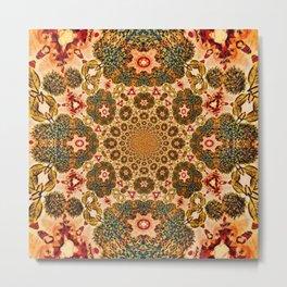 Michael Robinson Mandala Metal Print
