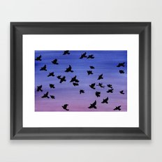 I won't apologize for being a bird Framed Art Print