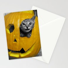 Halloween-Figgy Cat Stationery Cards