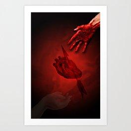 Pierce My Heart Art Print