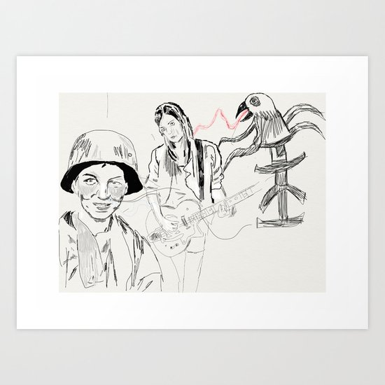 Army Folklore Art Print