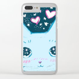 Star Bunny Clear iPhone Case