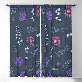 Purple Romance Blackout Curtain