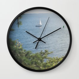 New England Sailing x Nautical Art Wall Clock