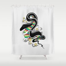 Many Colors Shower Curtain