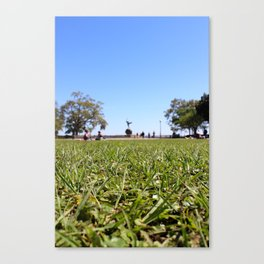 Picnic in the Park Canvas Print