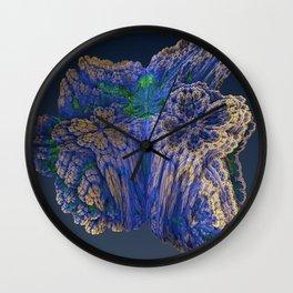 Mean Coral Wall Clock