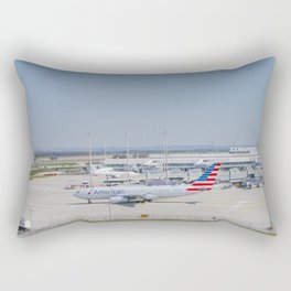 Flight AA717 MUC-PHL Rectangular Pillow
