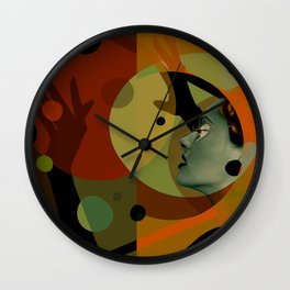 Technicolor, Looking to the other side Wall Clock