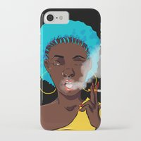 detroit iPhone & iPod Cases featuring Detroit by Sasha Dee Richardson