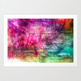 A wonderwall Art Print