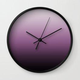 Purple , ink , viola , gradient , Ombre Wall Clock