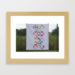 My Less is More phone case Framed Art Print