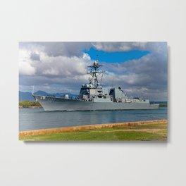Navy ship 2 Metal Print