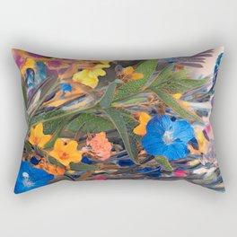 Floral abstract (75) Rectangular Pillow