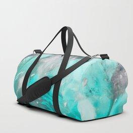Ocean Turquoise Duffle Bag