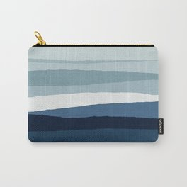 Blue Abstract II Carry-All Pouch