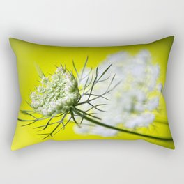 Lace Wildflower Rectangular Pillow