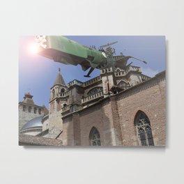 Albator in Cahors Metal Print