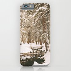 Winter Wonderland in the Forest Slim Case iPhone 6s