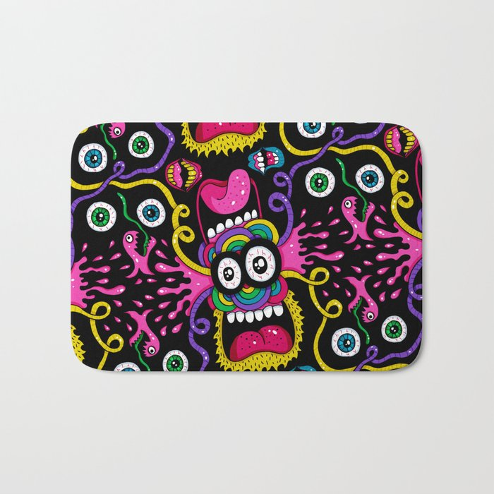 There's Something On Your Face Bath Mat