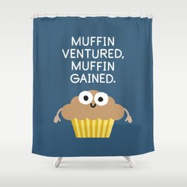 Crummy Advice Shower Curtain