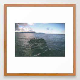The Bay Framed Art Print