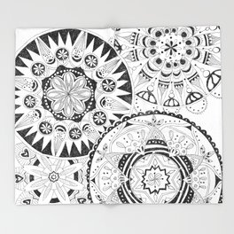 Mandala Series 02 Throw Blanket