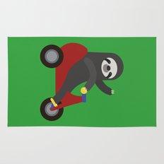 Sloth on Tricycle Rug
