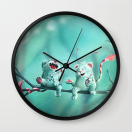 Drinks after work Wall Clock