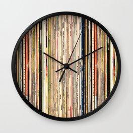 Long Player Wall Clock