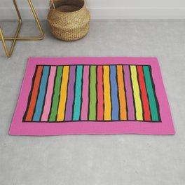dp203-10 Colorful Stripes Rug