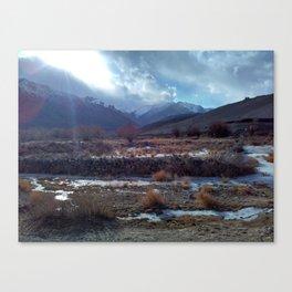 Ladakh colours Canvas Print
