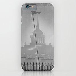retro classic Leningrad poster iPhone Case