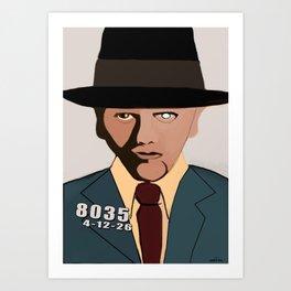 Bugsy Siegel Art Print