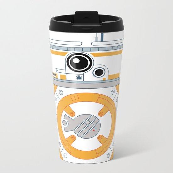 Minimal BB8 Droid Metal Travel Mug