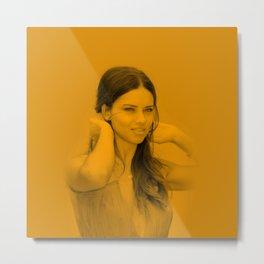 Adriana Lima - Celebrity Metal Print