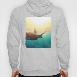 Sea Turtle - Underwater Nature Photography Hoody