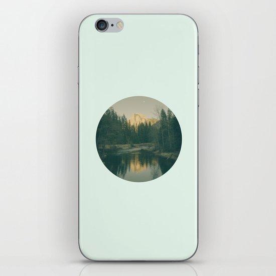 Mint Mountain Vignette iPhone & iPod Skin