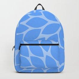 Sky Blue Chrysanthemum Backpack