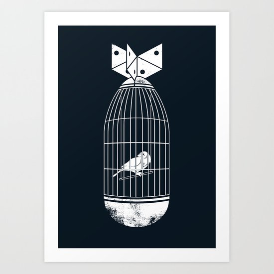 war prisoner Art Print