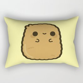 Cute chicken nugget Rectangular Pillow