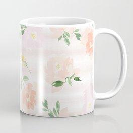 Gigi Collection - Peach Peony Coffee Mug
