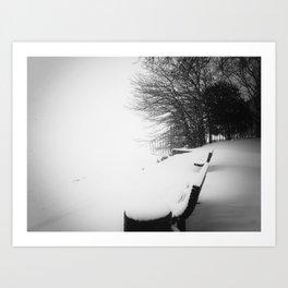 Winter 3 Art Print