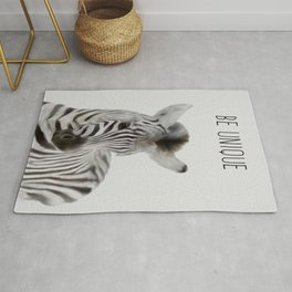 zèbre ,Zebra print, Safari animals wall art, Baby zebra, Rug