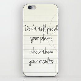 Motivational Buddha Quote iPhone Skin